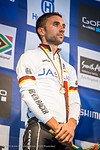 Zum ersten Mal steht ein Deutscher Elite-Fahrer auf dem Podium bei einer WM.