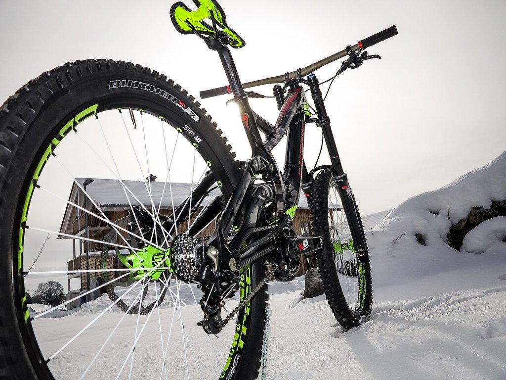 Laufräder und Antrieb