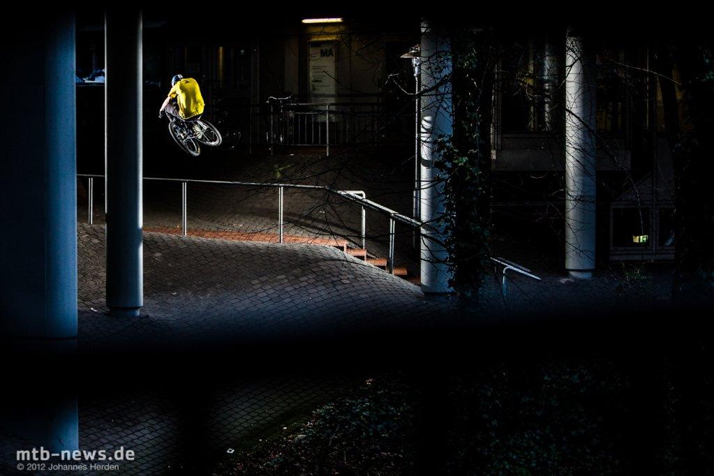Marius Hoppensack - Flug übers Rail