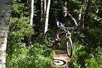 Die größeren Räder machen das Rad nicht weniger verspielt - Foto: S. Loibl