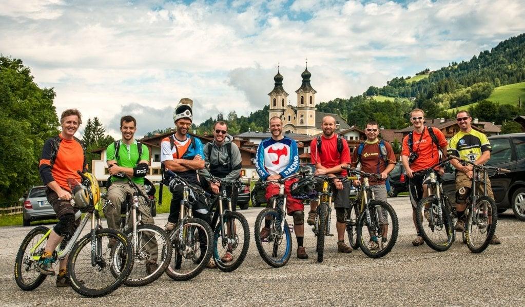 Die Bikebuddys für die nächsten 6 Tage