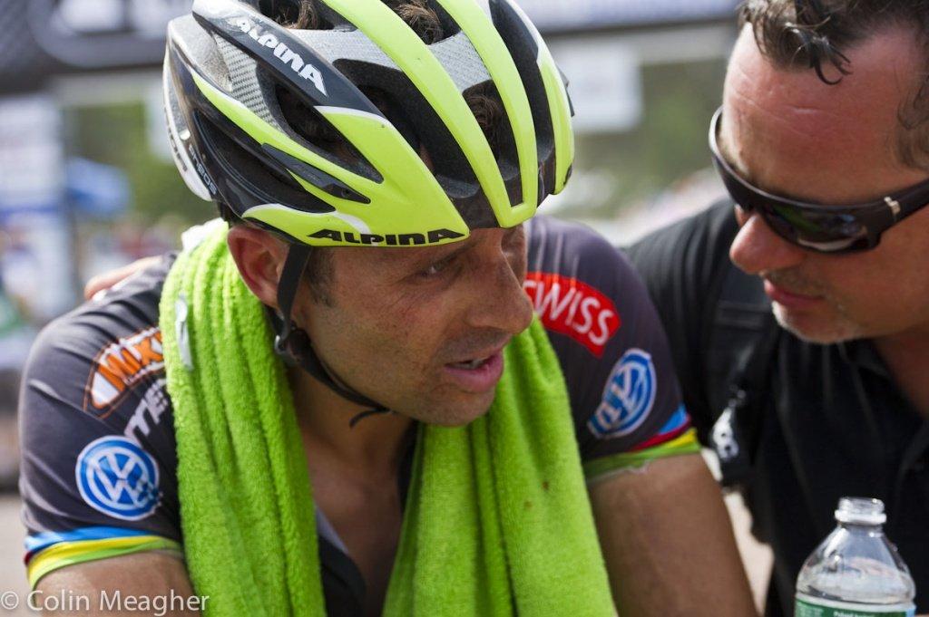 Platz 27 für Jose Hermida - in Runde 1 hatte er mit einem defekten Pedal zu kämpfen