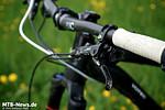 Ergon-Griffe gibt es in unterschiedlichen Größen - an den Komplettbikes wird durchgängig die mittlere verbaut.