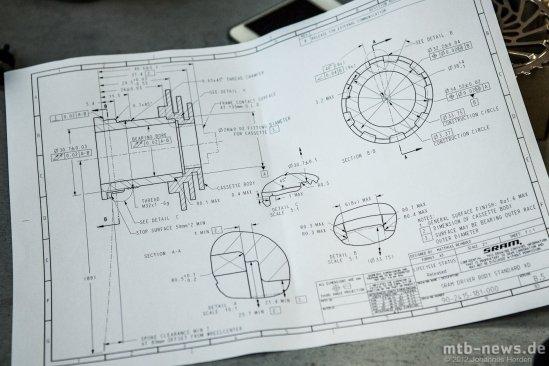 Konstruktionszeichnung für alle Dritthersteller