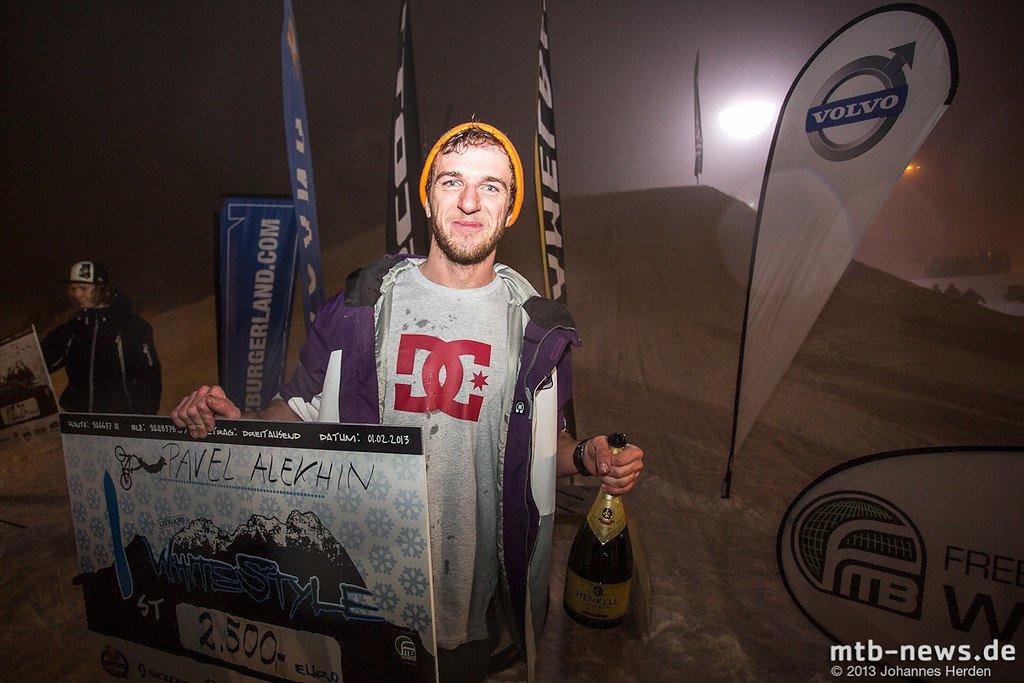 Glücklicher Sieger: Pavel Alekhin