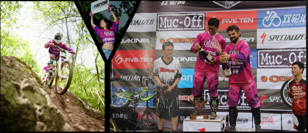 ION bike Team 2013 - MAG41 Team China by MAG41