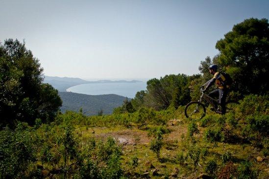 Der Blick über die Bandite Trail Area.