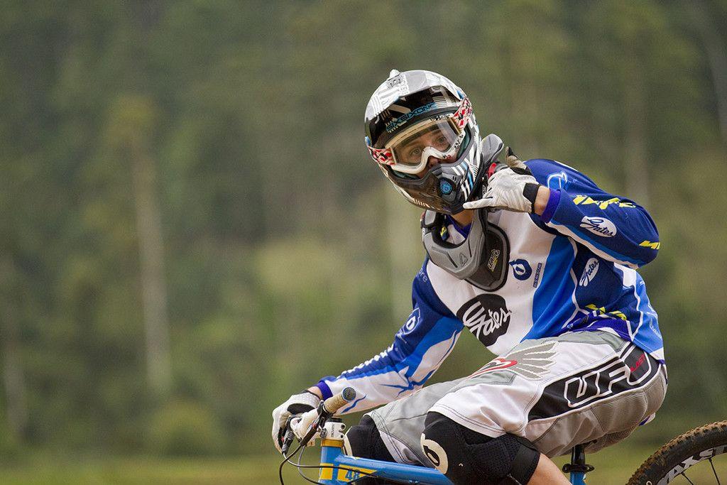 David Graf beim Weltcup